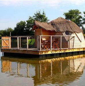 cabane flottante de pressac